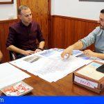 Arona empieza a planificar la reparación de la cubierta del pabellón de Las Galletas