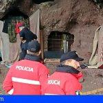«Las actuaciones de la Policía Canaria en la Cueva de los Canarios no fueron un desalojo»
