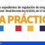 Canarias edita una guía para tramitar las regulaciones temporales de empleo