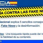 La Policía Nacional presenta la primera guía para evitar ser manipulados por las fake news