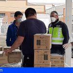 Intervienen en Madrid 19.600 mascarillas y 498.000 guantes de nitrilo, entre otros materiales sanitarios