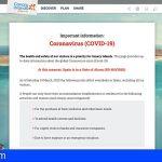 Canarias traslada a los visitantes información en 11 idiomas tras la declaración del estado de alarma