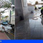 Granadilla | Sermugran refuerza los turnos para efectuar el plan de choque y refuerzo de limpieza