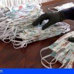 La Gomera produce más de un millar de mascarillas para los servicios prioritarios