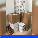 El Ayuntamiento de Granadilla entrega a los taxistas material de prevención contra el Covid19