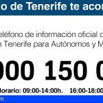 Tenerife habilita el 900 150 055 para ayudar a autónomos y pymes en la crisis