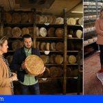 La quesería Bolaños en Gran Canaria presentó un queso gigante de 213Kg