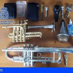 Detenida en Santa Cruz por el robo y venta de dos trompetas
