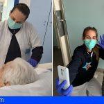San Juan de Dios Tenerife potencia la videollamada para minimizar la ansiedad y mejorar el ánimo de pacientes y familias