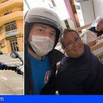 Un socorrista de Puerto de la Cruz se ofrece voluntario a domicilio