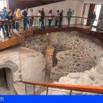 Canarias | Un torreón sepultado que se creía perdido, curiosidad que llamó la atención en la visita guiada del Cabildo