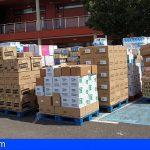 Granadilla reparte alimentos entre las asociaciones y las ONG para los más vulnerables