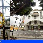 Banderas a media asta en el Ayuntamiento de Granadilla por las víctimas del Covid-19