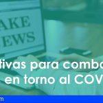 Los medios autonómicos activan varias iniciativas para combatir los bulos en torno al COVID-19