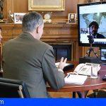 La Casa Real se interesa por la situación del sector hotelero canario en videoconferencia con Ashotel y CEHAT