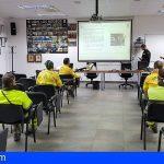 Tenerife | La UME imparte un curso de formación sobre desinfección de superficies a personal BRIFOR