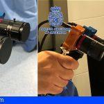 La Policía Nacional participa en el diseño de un dispositivo para «ver» el COVID-19 sobre las superficies