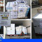 El FAST dona productos de 1ª necesidad al Banco de Alimentos de Arona
