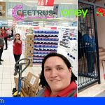 Las empresas de Auchan donan 122.000€ a Cruz Roja para la compra de alimentos básicos