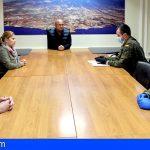 El Ejército de Tierra se suma a labores de desinfección en Granadilla