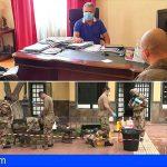 San Miguel recibe el refuerzo del Ejército de Tierra en las labores de desinfección