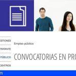 El Cabildo de Tenerife selecciona personal sanitario para reforzar las listas de reserva del IASS