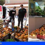 Loro Parque dona frutas de sus fincas ecológicas al banco de alimentos de una Fundación