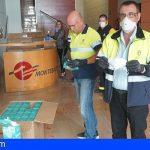 Canarias | Los cabildos reciben las 34.000 mascarillas para transportistas