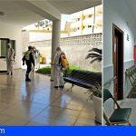Arona garantiza la seguridad en la residencia de mayores de Los Cristianos, con un estricto protocolo