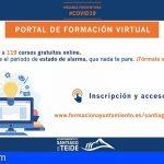 Stgo. del Teide activa el Portal de Formación Virtual con nuevos cursos de formación gratuita