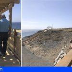 San Miguel y Granadilla muestran su satisfacción con el nuevo paseo costero