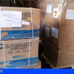 Los centros sanitarios de Canarias reciben el material de protección ante el COVID-19