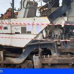 Tenerife | Le roban 2 máquinas de asfaltado, tras agredirlo y obligarle a firmar un documento de cesión