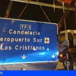 El Cabildo de Tenerife mejora la señalización informativa de la TF-1
