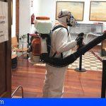 Guía de Isora refuerza su seguridad y salud en instalaciones municipales