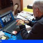 Adeje preside por videoconferencia las juntas de gobierno y retoma la actividad previa al parón total