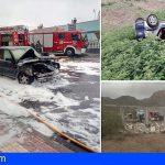 Bomberos de Tenerife extinguió cuatro incendios este fin de semana