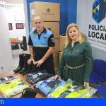Granadilla renueva la uniformidad de la plantilla del Cuerpo de la Policía Local