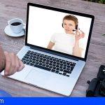 El Cabildo de Tenerife usa videollamadas para las claves personales que requieren los trámites online