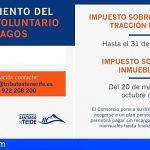 Stgo. del Teide amplía hasta finales de julio el pago del rodaje y hasta finales de octubre el del IBI