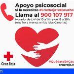 «Cruz Roja Te Escucha» a fin de aliviar, en lo posible, el sufrimiento emocional por la crisis del Covid-19
