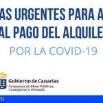 Más de 12.500 familias canarias solicitan la ayuda de emergencia al alquiler por el COVID-19