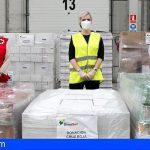 HiperDino dona 12 toneladas de alimentos a Cruz Roja Tenerife