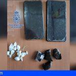 Detenido en Puerto de la Cruz con 4 piezas de hachís y 7 envoltorios con cocaína