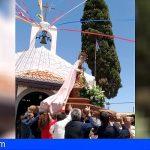 San Miguel | Vecinos de El Frontón han celebrado el día de su patrona desde casa