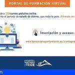 Stgo. del Teide lleva cerca de 500 cursos realizados a través de la Escuela Virtual de Formación