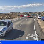 Granadilla | Un ciclista herido grave tras sufrir una caída en La Tejita