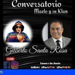 Gilberto Santa Rosa, será el invitado Nº 100 para el cierre del «Conversatorio de Maelo y su Klan»