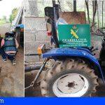 Detenido por sustraer maquinaria agrícola en varias fincas de Tacoronte valorada en 8.000 €