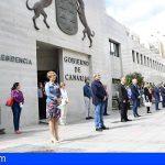 Canarias se suma al luto oficial y guarda un minuto de silencio en memoria de los fallecidos por Covid-19
